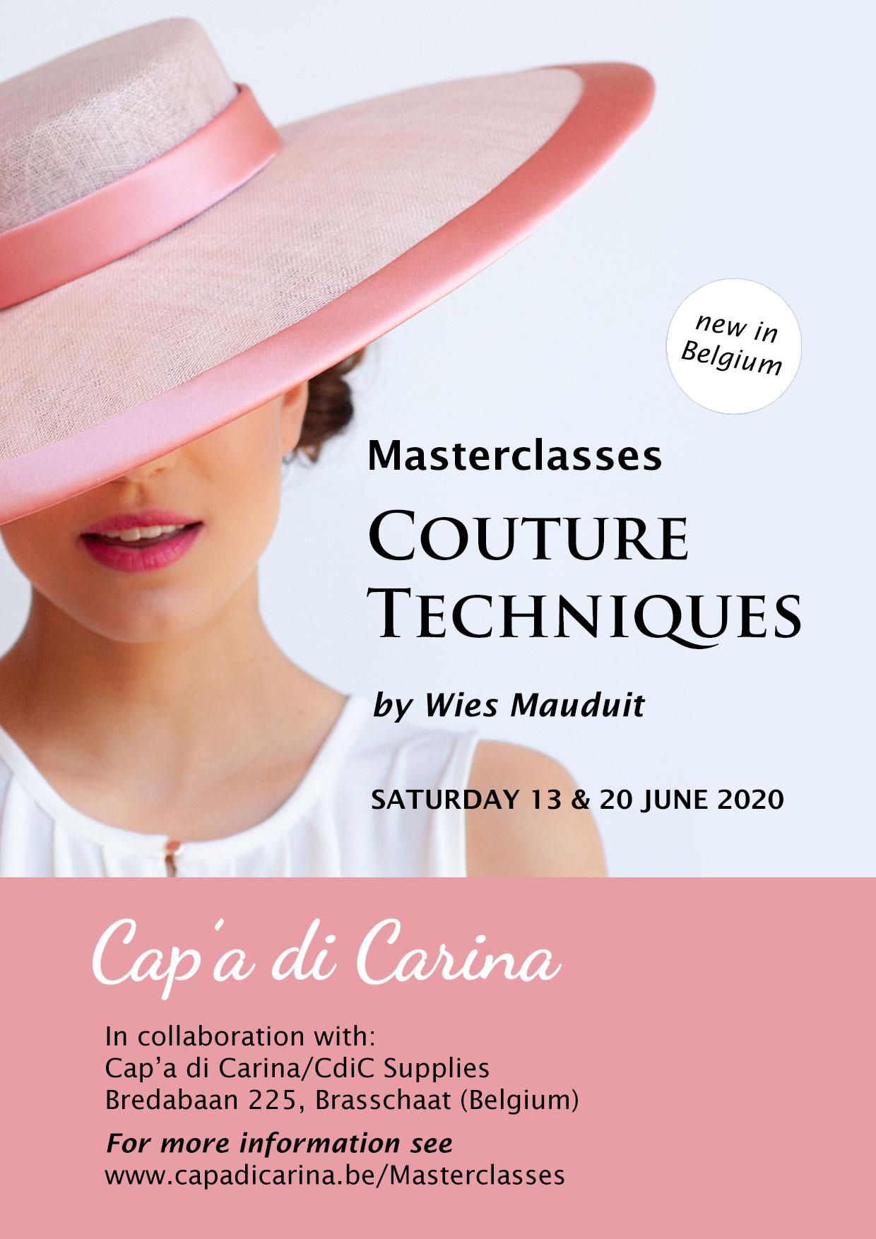 Masterclasses Couture Techniques